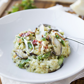 Creamy Winter Risotto with Asiago Cheese