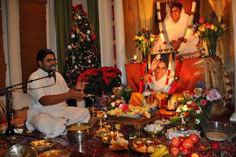 Photo: Guru Pada Pooja - Arati