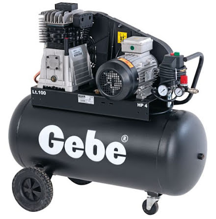Kompressor PowerAir 100/4TB Gebe