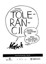 """Photo: Whielki Krasnal - the poster for the festival """"Culture for Tolerance"""" and it's main point - Tolerance March held in Cracow i 24-27 April 2008. The original version made by Wilhelm Sasnal"""
