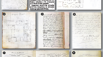 Documentos y planos encontrados sobre la antigua cárcel.