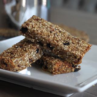 Coconut Blueberry Quinoa Bars