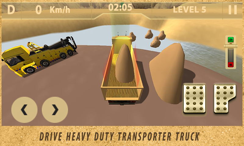 Sand-Transport-Truck-Simulator 25