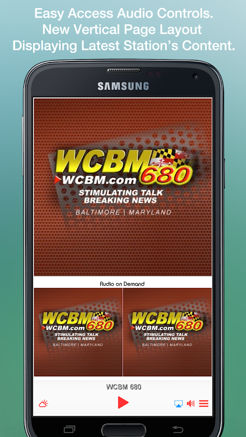 WCBM 680- screenshot