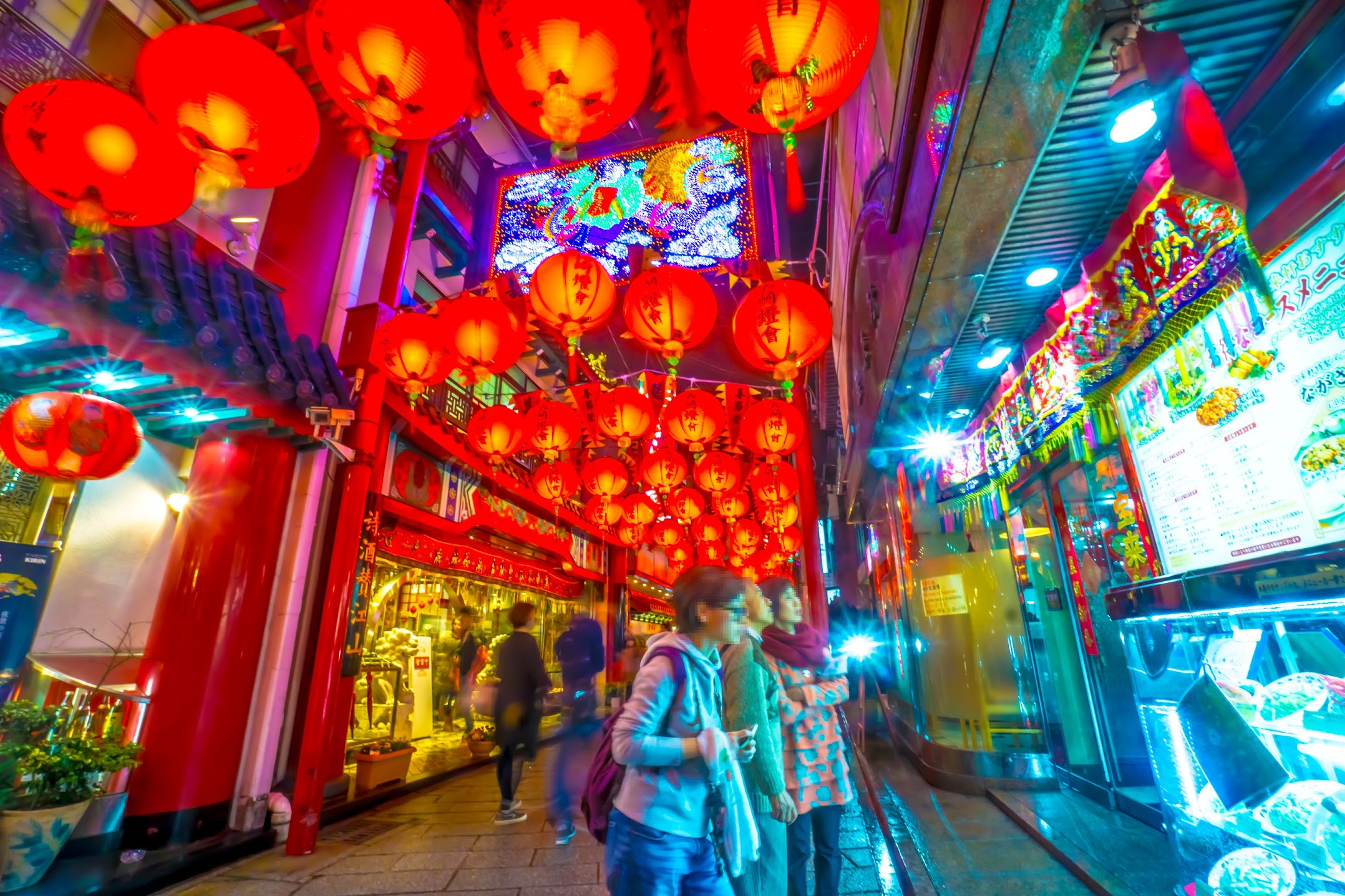 長崎ランタンフェスティバル 中華街2
