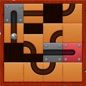 Halloween Roll The Ball Unblock Free Puzzle Game