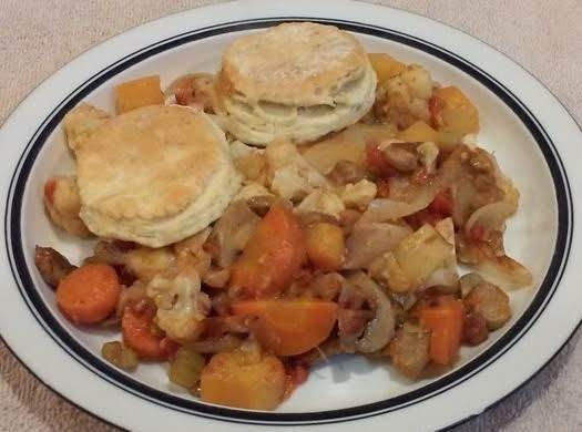 Irish Vegetable Cobbler