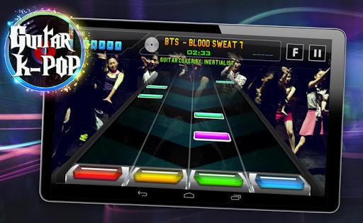 Guitar Hero K-POP Edition (EXO, BTS, etc)  screenshots 1