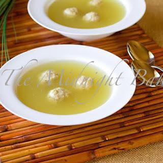 Chicken Soup with Matzoh Balls