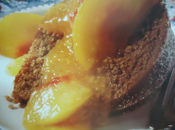 Norma's Spice Cake With Fresh Peach Sauce Recipe