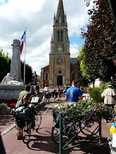 Photo: arrivée a Forges-Les -Eaux