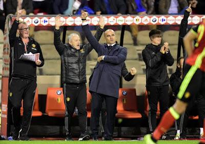 """Roberto Martinez genoot na de match: """"Aan onze fans laten zien dat we aan elk detail denken"""""""