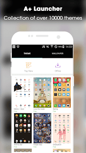 A+ Launcher - Simple & Fast Home Launcher Screenshot