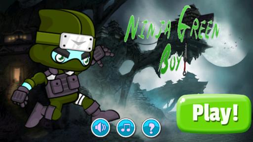 Ninja Green Boy Adventure