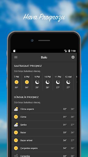 Hava Proqnozu - Azu0259rbaycan 3.0.2 Screenshots 1