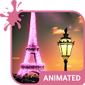Paris Animated Keyboard + Live Wallpaper icon