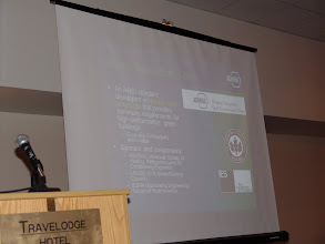 Photo: Hugh Crowther spoke at length about ASHRAE Standard 189.1