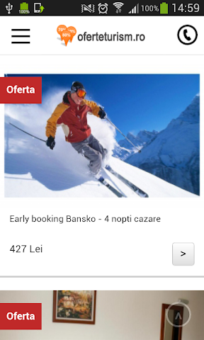android OferteTurism Screenshot 0