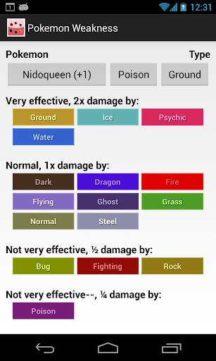Weakness Check for Pokemon screenshot 3