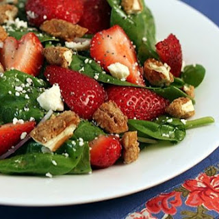 Spinach Strawberry Salad.