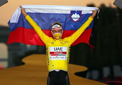 """Tadej Pogacar heel zelfzeker voor de Tour: """"We hebben de sterkste ploeg"""""""