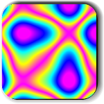 Psychedelic camera free Icon