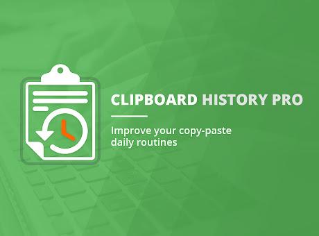 Clipboard History Pro: best productivity tool