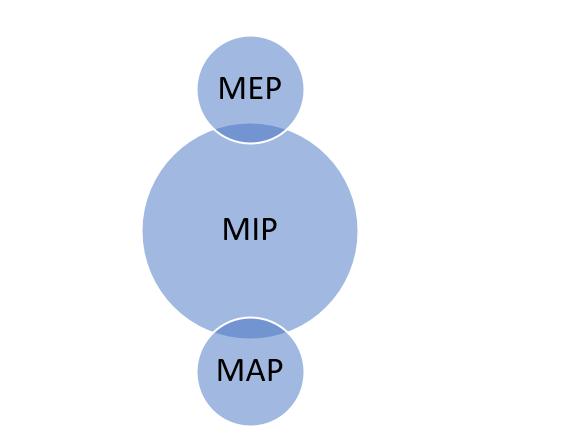 MIP X MEP X MAP