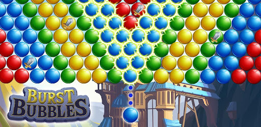 Rescue swords and help the bubble war effort in a new bubble shooter puzzle game