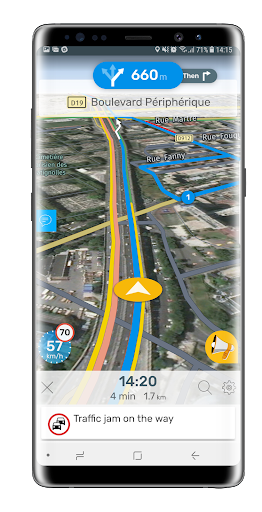 NavMeTo GPS Truck Navigation pt-1.2.2 screenshots 3