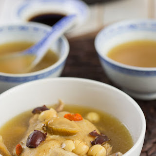 Ginseng Goji Chicken Soup Recipe