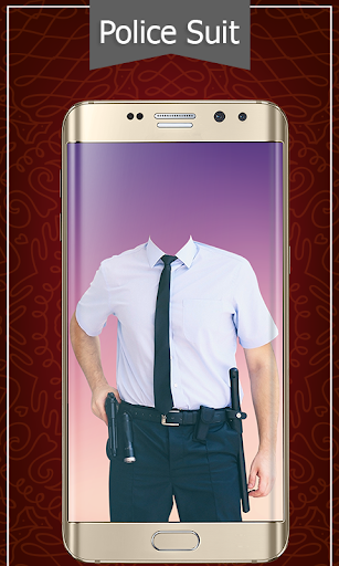 Police Suit Photo Frames - Picture & Image Editor screenshot 3