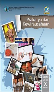 Buku Prakarya Kelas 10 Kurikulum 2013 - náhled