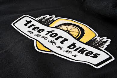 Tree Fort Bikes Zip Hoodie alternate image 2