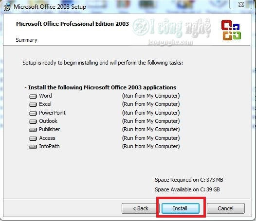 Download Tải Office 2003 Full - Video hướng dẫn cài đặt chi tiết