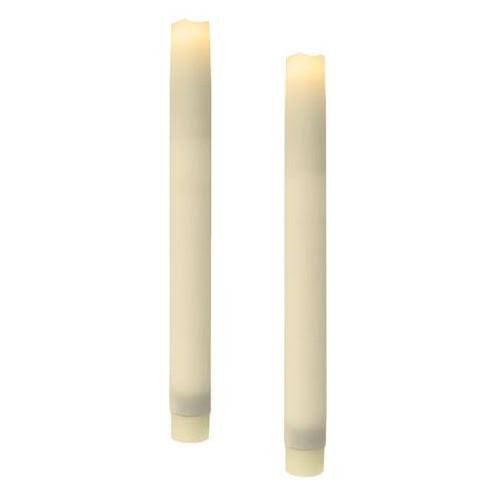 LED Stearinljus Antikt 2-pack