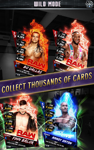 WWE SuperCard – Multiplayer Card Battle Game screenshot 1