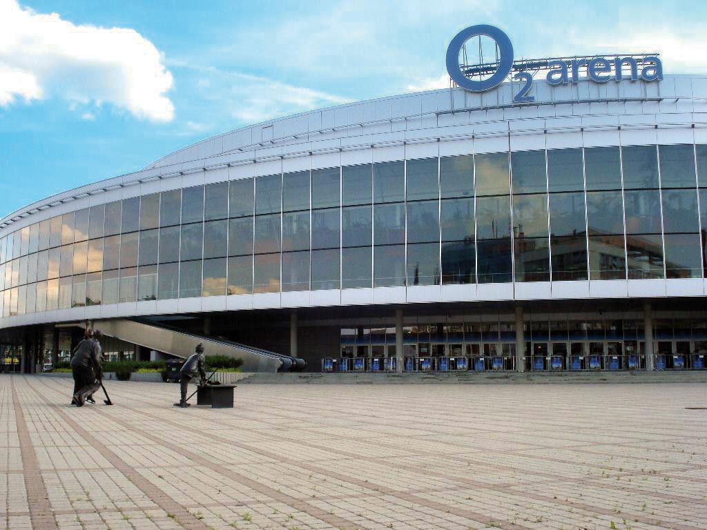 ледовая арена O2 Прага 9