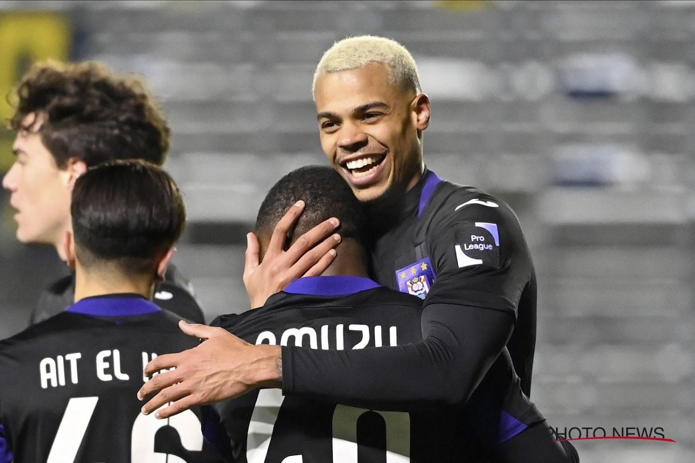 Amuzu encore une fois décisif avec Anderlecht :
