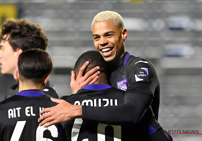 """Amuzu encore une fois décisif avec Anderlecht : """"Il peut faire mal à beaucoup d'équipes"""""""