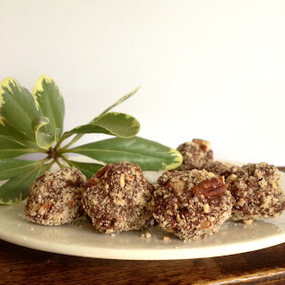 Healthier Cacao Peanut Butter Fudge Bites