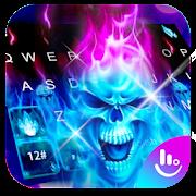 App Hell Skull Fire Ice Keyboard Theme APK for Windows Phone
