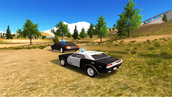New Police Car Offroad simulator Driving - náhled