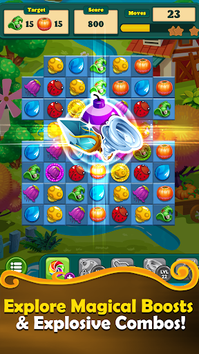 New Witchy Wizard 2019 Match 3 Games Free No Wifi screenshots 2