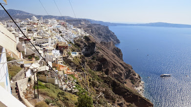 Photo: View from Fira