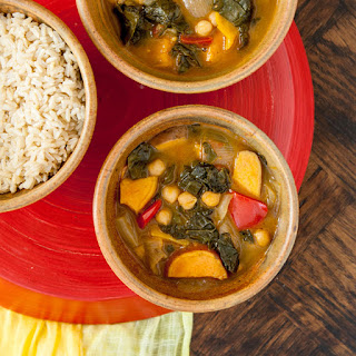Caribbean Veggie Curry.