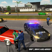 NYPD Gangster Crackdown Police Car Chase Simulator