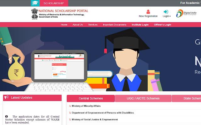 Matric Scholarship + Post Matric Scholarship