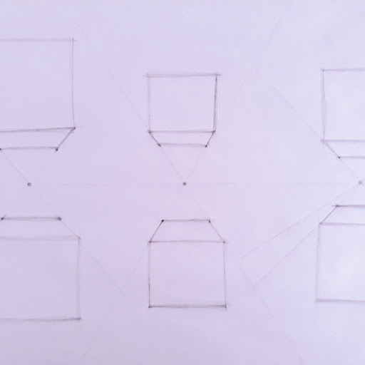 Picture of one point perspective drawing