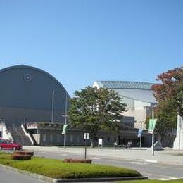 松本市総合体育館のメイン画像です